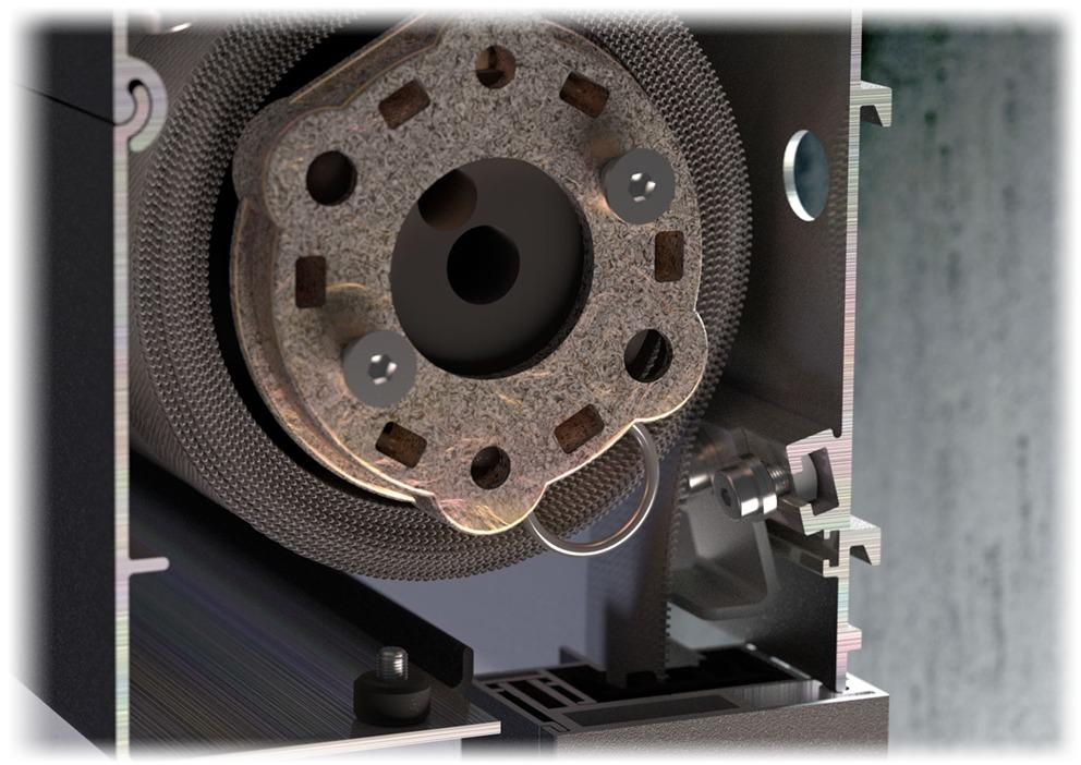Ziip system rolet tkaninowych z zabezpieczeniem