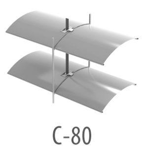 żaluzje fasadowe C-80 Szczecin